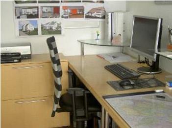 Matthias Degen im Büro
