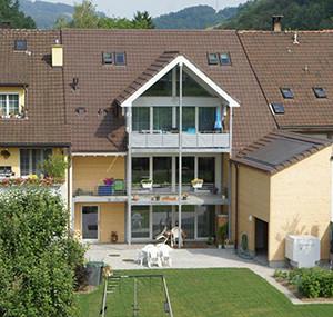 Umbau Tecknau